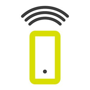 Pilotage smartphone